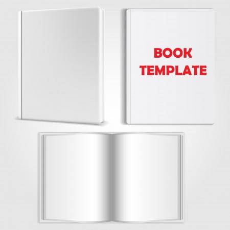 book template vector Stock Vector - 24021337