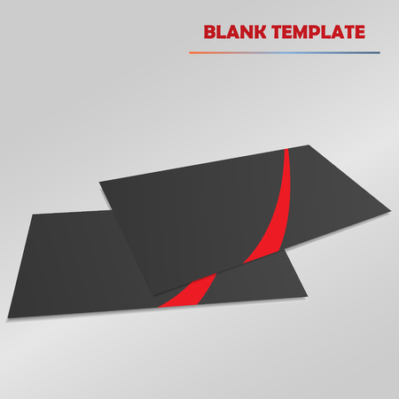workpiece: blank template vector