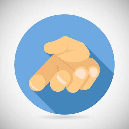 Pleading: open Palm Pleading Icon Giving Hand Symbol Concept Flat Design Vector Illustration