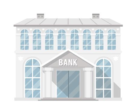 銀行の建物管理商業家フラット デザイン ベクトル図 写真素材 - 76106490
