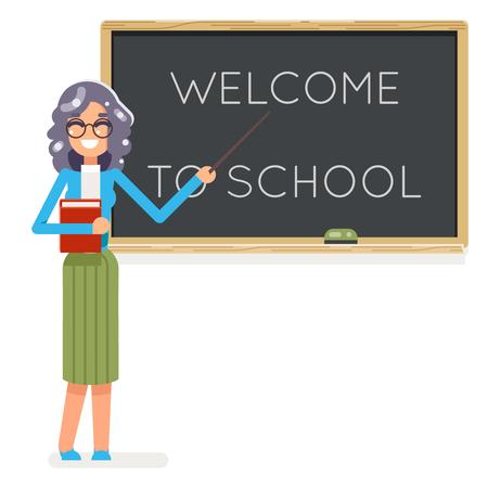 Lehrer Buch Weibliche Studie Schüler Schüler Klasse Bildung ...
