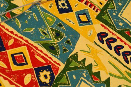 Vintage Wallpaper Pattern Stock Photo