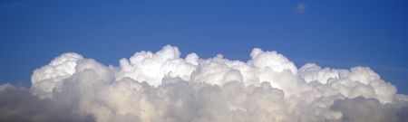 dispersed: Clouds Stock Photo