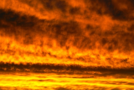 Roten Wolken Lizenzfreie Bilder
