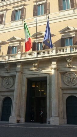 Montecitorio Stock Photo