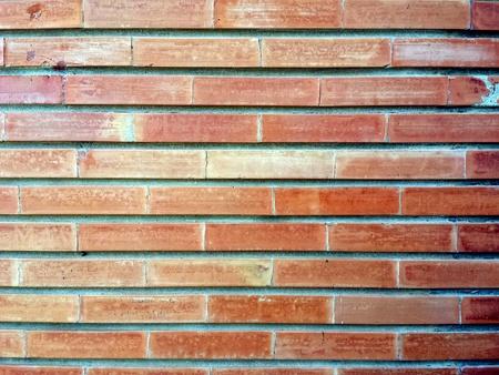 Renkli tuğla duvar