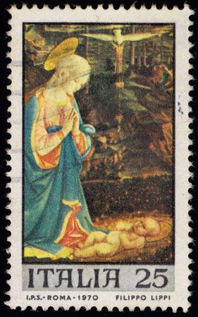 Mail-Briefmarke