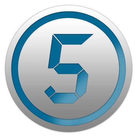 Vector number five 5