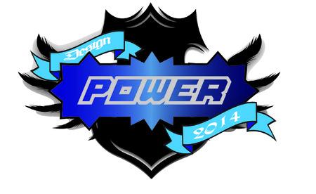 Power logo design Vector