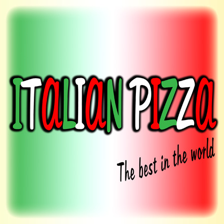 Italienische Pizza Vektor-Logo