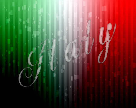 Italy vector background