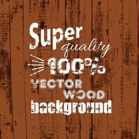 Vector wood texture background Vector