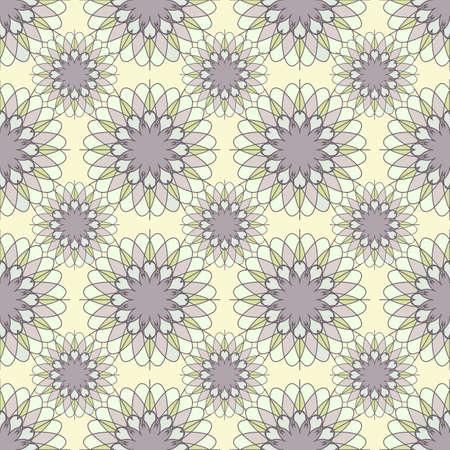 geometrical pattern: Seamless mosaic geometrical pattern background Illustration