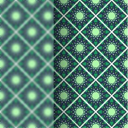 matt: Matt glass over vintage vector pattern Illustration