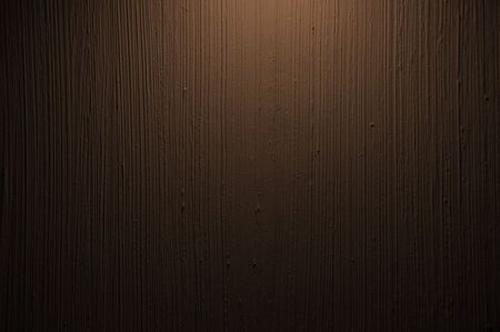 Brown Vertical abstract stucco decorative painted wall texture. Handmade rough wall background Stock Photo