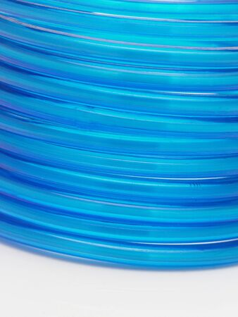 blue dress:  Row of blue bangles in white background