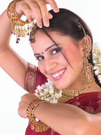 Indian girl with nice laughing expression Stock Photo - 4629565