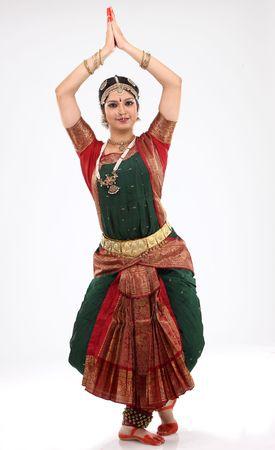 Tradition woman doing traditional dance Reklamní fotografie