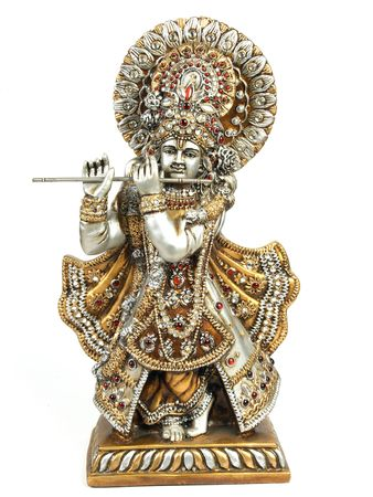 Idol of lord krishna Stock Photo
