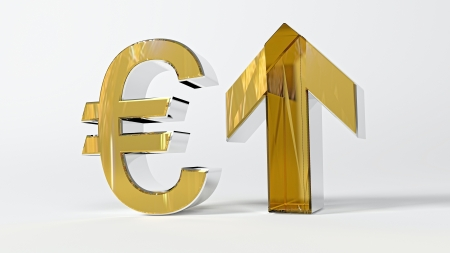 Growth of euro Stock Photo - 16640974