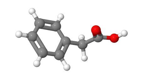 alargamiento: Planta hormona - Auxinas - �cido fenilac�tico - PAA - molecular