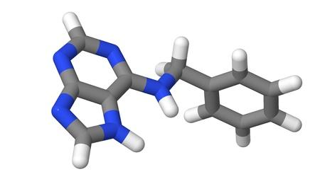 Plant hormone - Cytokinins - Benzyl adenine - BAP - sticks Stock Photo - 17613556