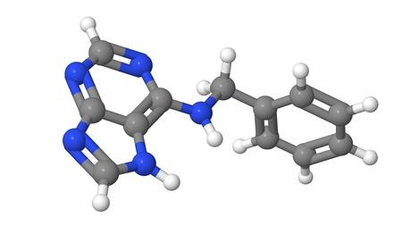 bap: Plant hormone - Cytokinins - Benzyl adenine - BAP - model