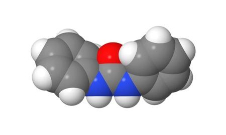 alargamiento: Hormona vegetal - Las citoquininas - difenilurea - modelo spacefill