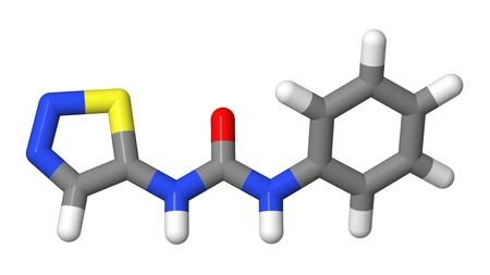elongacion: Hormona vegetal - Las citoquininas - Thidiazur�n - TDZ - Modelo de palos
