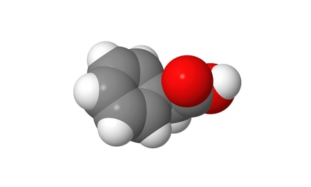 elongacion: Hormona vegetal - Auxinas - �cido fenilac�tico - PAA - spacefill modelo molecular Foto de archivo