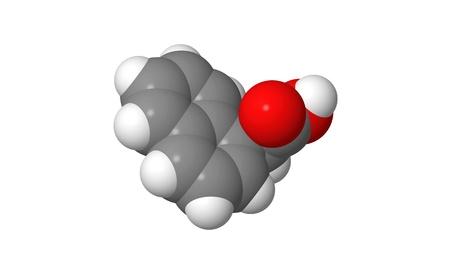 elongacion: Hormona vegetal - auxinas sint�ticas - NAA - spacefill modelo molecular Foto de archivo