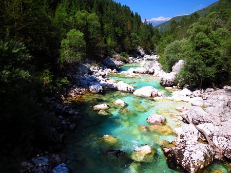 Soa river rapids