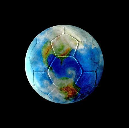 Earth of Leather Football photo