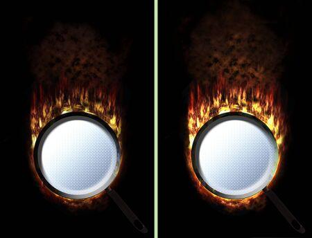 unpressed: panor�mica prensado y unpressed con fuego de m�s y menos
