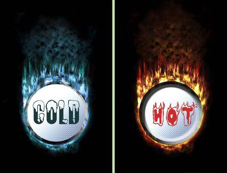 unpressed: aislado facturado flaming y hielo unchecked bot�n