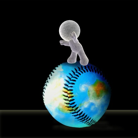 rende: A soft toy rolling the world of baseball forward into the future