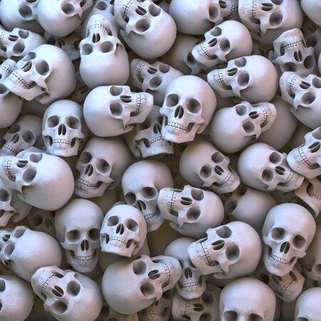 heap: Heap, pool of natural skulls