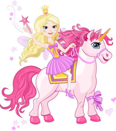 period costume: Little Fairy Princess and Unicorn