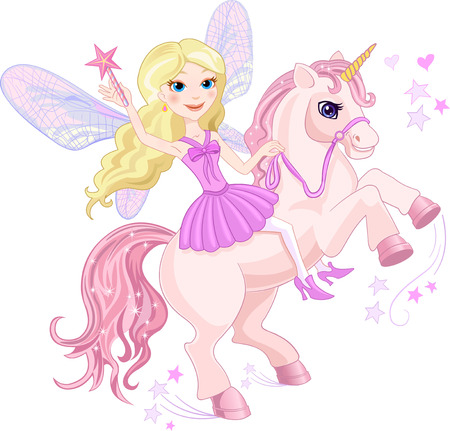 princess crown: Little Fairy and Unicorn