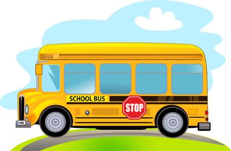 chofer de autobus: Historieta del autobús escolar