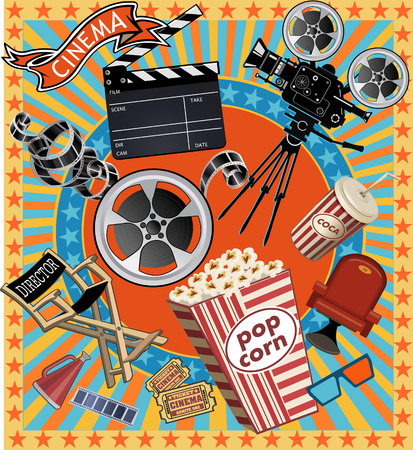 projector: Cinema and movie projector