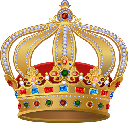 jeweled: Royal Gold Crown