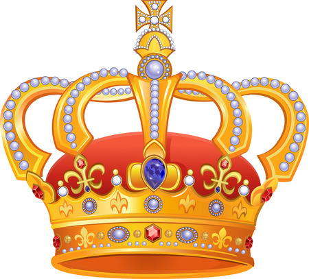 crown king: Royal Gold Crown