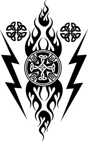 tribal tattoo: Vikings tattoo