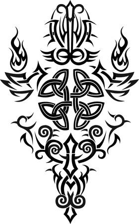 바이킹 문신