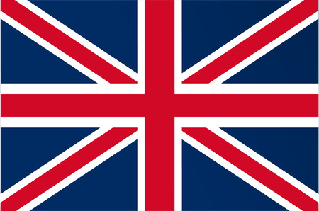 u k: vector image of british flag