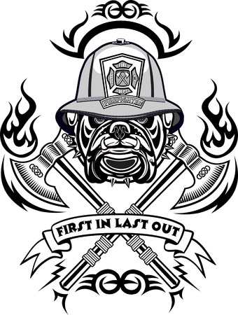 bombera: tatuaje del bombero