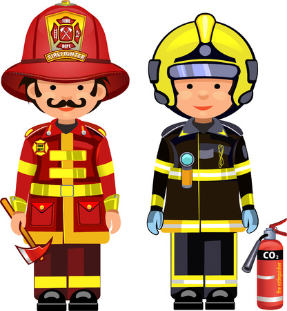 kiddies: firefighter