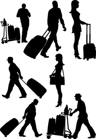departures: Airport passenger terminal. International arrival  and departures
