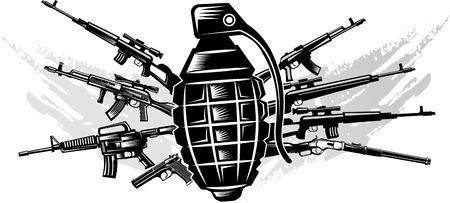 pistolas: Armas de fuego: antigua y moderna